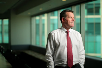Outgoing IFM CEO Brett Himbury.