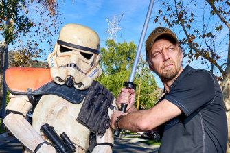 Jason Satterlund, a writer and Star Wars fan filmmaker.