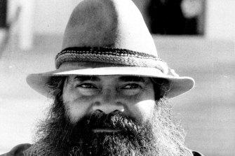 Pat Dodson in 1986.