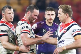 Boyd Cordner suffered a succession of concussions last year before announcing his retirement this week.
