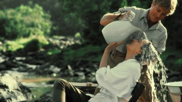 Meryl in Out of Africa, 1995.
