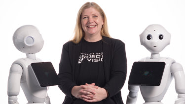 Sue Keay is part of a push towards developing equality in robotics.