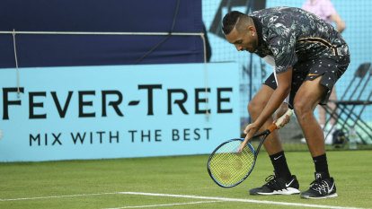 'It's rubbish': Ranting Kyrgios unloads on umpires