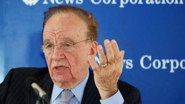 Rupert Murdoch's News Corp has posted a $US1.5 billion net loss.