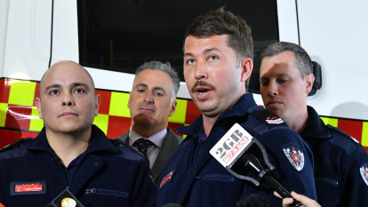 'I just wanted to cry and call my wife': firefighters recall CBD stabbing