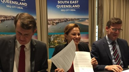 Politicians sign up to share SEQ City Deal funding by mid-2020