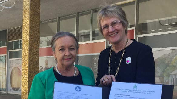 ACT, NT speakers petition senate for equal rights amid talk of statehood