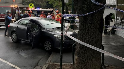 Woman injured after car ploughs into Melbourne cafe