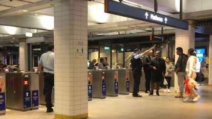 Sydney trains still delayed after earlier Town Hall police operation