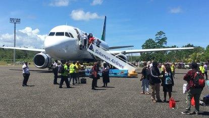 Solomon Islands pin economic hopes on new Brisbane link