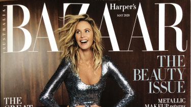 Harper's Bazaar is one of the titles that has beem temporarily suspended.