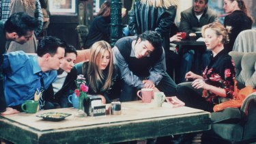 People are watching Friends to ''escape, not for the conversations''.