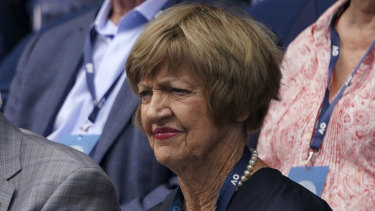 Margaret Court's tennis achievements will be honoured in a ceremony at Rod Laver Arena on Monday night.