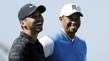 Major opportunity: The new schedule could prove beneficial to the likes of Jason Day (left) or Tiger Woods.