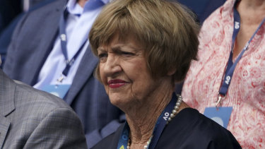 Margaret Court at this year's Australian Open.