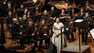 A triumph: Deborah Cheetham performs her 'Eumeralla: a War Requiem for Peace's' with the MSO.