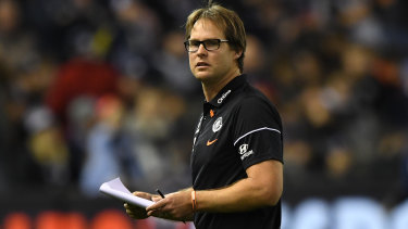 New sensation: Carlton have lifted under interim coach David Teague.