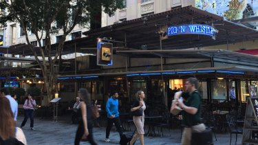 ThePig'n'Whistle Pub in Queen Street Mall, Brisbane, will be demolished and replaced by a new tenant after Brisbane City Council decided to go to tender for a new lessee.
