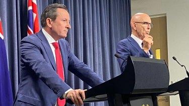 WA Premier Mark McGowan and Attorney General John Quigley take aim at mining billionaire Clive Palmer.