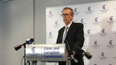 "Crime and Corruption Commission Alan MacSporran said the episode was a ""disgraceful"" example of a public servant trying to comply with a politician without speaking frankly."