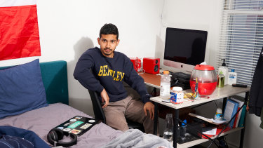 Walid Mohammed, 21, moved into the five-bedroom house in LA with other Gen Z creators in May.