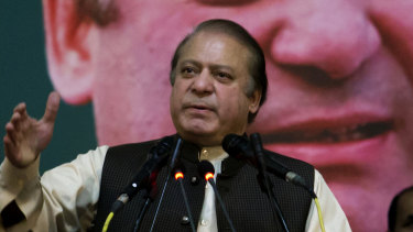 Nawaz Sharif has denied corruption allegations that emerged from the 2016 Panama Papers.