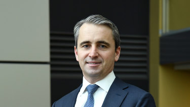 "CBA chief executive Matt Comyn says the arrival of new competitors is ""great for customers."""