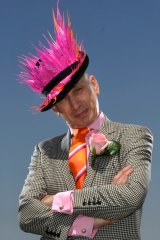 Sydney milliner Neil Grigg has gone into hat overdrive for the expanded Everest horse race on Saturday,