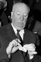 Alfred Hitchcock in Sydney.