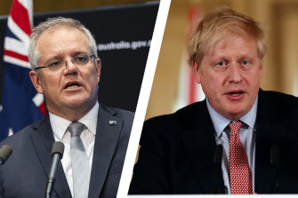 Scott Morrison has secured Boris Johnson's support for an independent probe into the origins of the coronavirus.