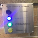 The new school air conditioning systems can control for outdoor conditions and carbon dioxide levels.