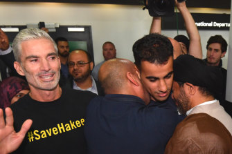Hakeen Al-Araibi was freed after the football community campaigned for his release with strong government support.