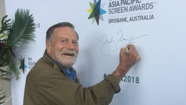 Australian actor Jack Thompson says film is the language of our age, the language we all understand.