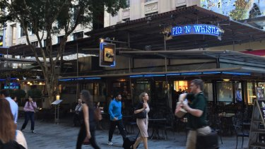 The Pig'n'Whistle Pub in Queen Street Mall, Brisbane, will be demolished and replaced by a new tenant after Brisbane City Council decided to go to tender for a new lessee.