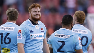 Harry Johnson-Holmes was a great find for the Waratahs this season.