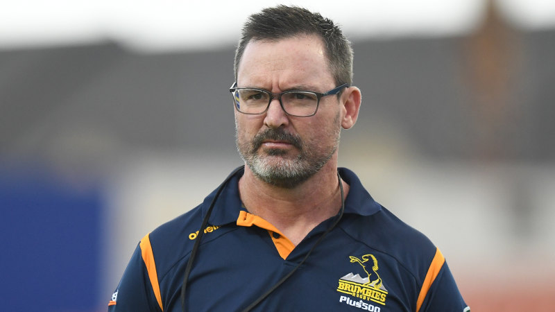 Brumbies coach targeted to quit and join Wallabies