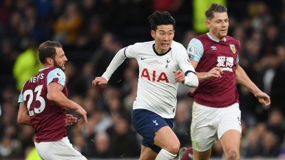 Liverpool romping clear at top but day belongs to Spurs' Son Heung-min