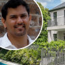 Colourful former NSW cricket director's $13.5 million Sydney home goes up in flames