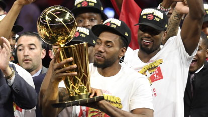 Raptors hang tough to win first NBA championship