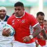 Tongans farewell Piutau with convincing win over the United States