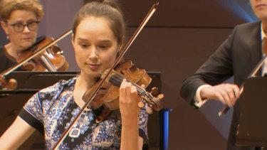 Anne-Marie Johnson plays Vivaldi in the MSO Live Music Marathon.