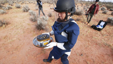 The capsule dropped by Hayabusa2 was found in Woomera this month, after a multi-billion kilometre voyage to an asteroid.