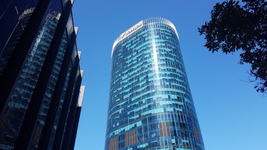 Woodside's Perth CBD HQ.