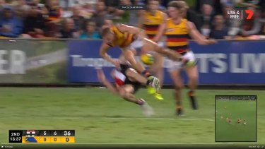 David Mackay collects Hunter Clark.