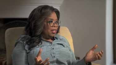 America's confessor-in-chief Oprah Winfrey in the Apple TV+ documentary The Me You Can't See.