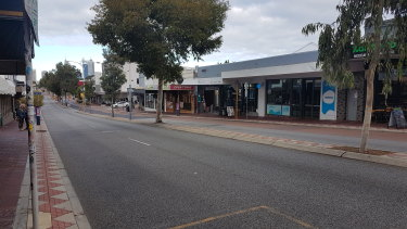 Beaufort Street in Mount Lawley is facing a downturn as several businesses close their doors.  It's the same story on 'main strips' across the Perth.
