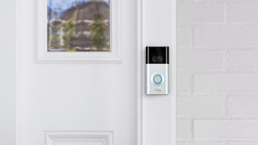 The Ring Video Doorbell 2 lets you see who's at your door, and lets you talk to them, wherever you are.