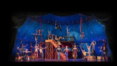 Pippin is not short on full-frontal theatricality.