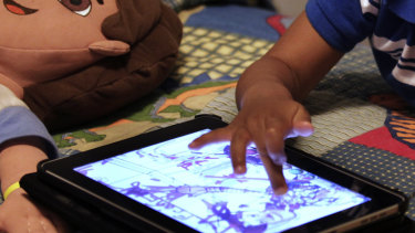 The World Heath Organisation has recommended no screen time for children under one.