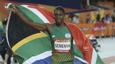 South Africa's Caster Semenya will have to wait until April for a verdict.